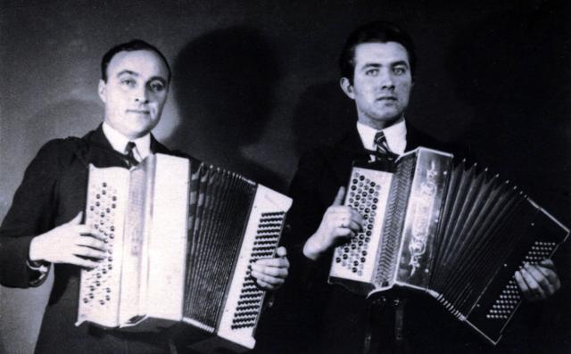 Davíð og Jónas. © Júlíus Jónasson.