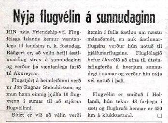 Dagur 12. maí 1965.