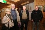 Erla, Bjarki og bræðurnir Gunnar og Gylfi Gunnarssynir.