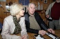 Erla og Gunnar Gunnarsson.