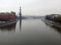 Moskva í mistri.