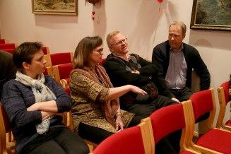 Liðsmenn vorir: Margrét Birna, Steinunn Aldís, Árni og Sindri.