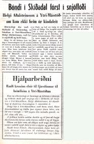 Forsíða Dags á Akureyri 9. nóvember 1955.