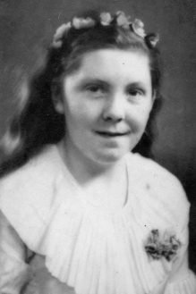 María Arngrímsdóttir, fermingarmynd.