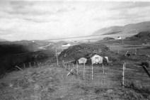 Skarð í Glerárþorpi, heimili Maríu áður en hún flutti með Guðjóni í Hjaltastaði.