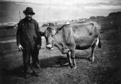 Arngrímur á Skarði, faðir Maríu á Hjaltastöðum.