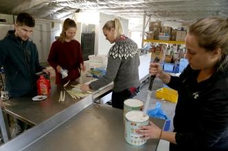 Sigurður Ingi, Sandra, Ingunn Margrét og Ingibjörg Fríða.